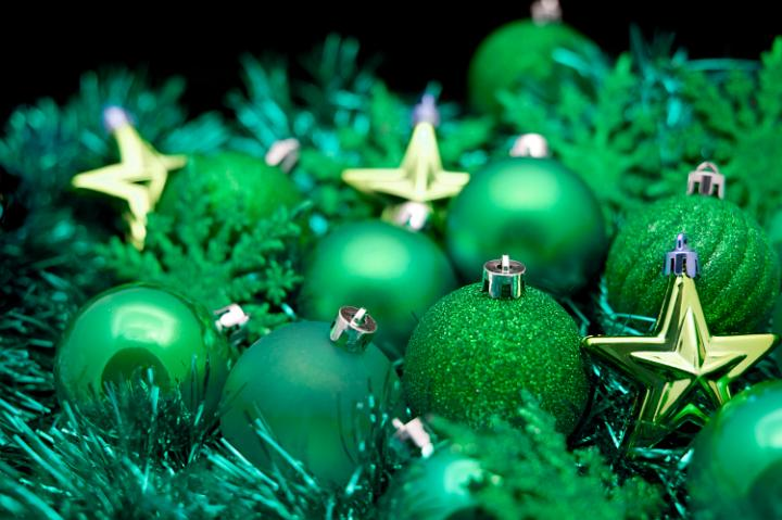 Photo of green and gold christmas free images