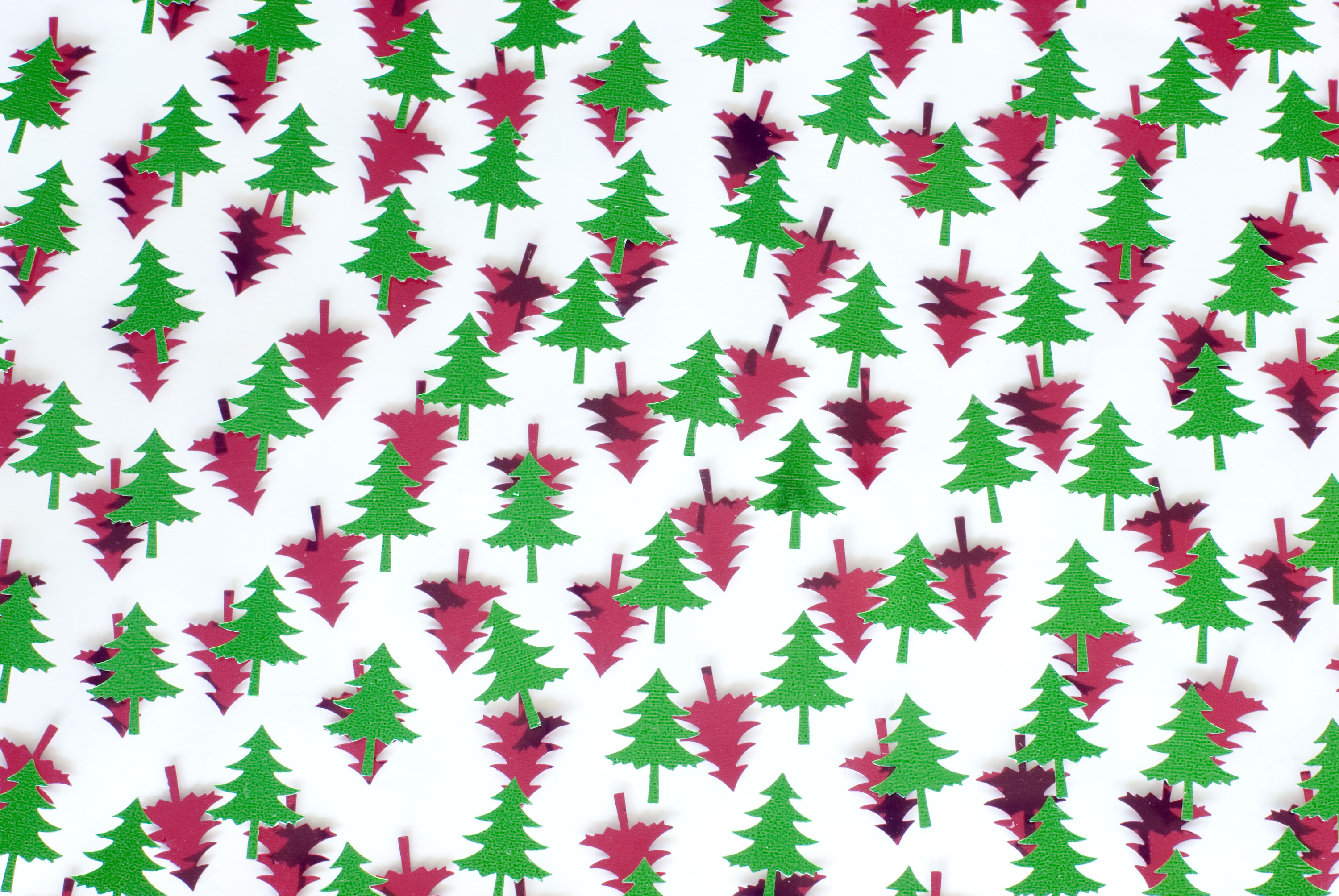 Photo of red and green tree shapes free christmas images for Red and green christmas tree
