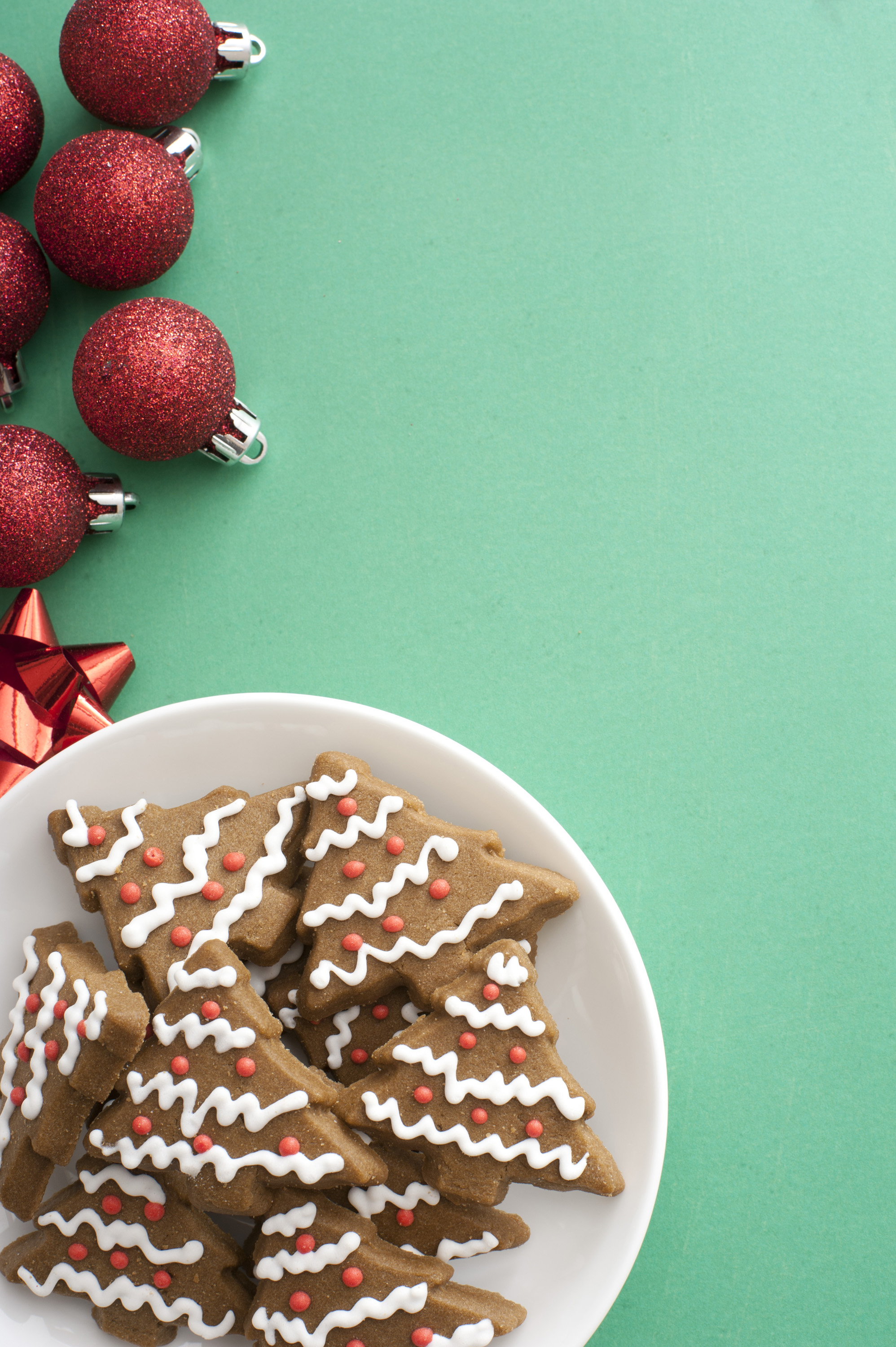 Find A Code >> Photo of Iced gingerbread cookies for Christmas | Free