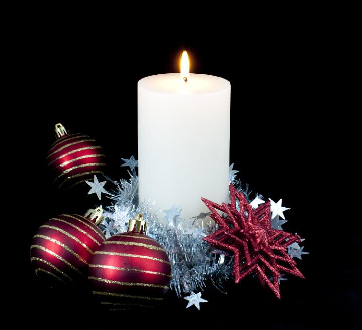 Xmas Candle Decorations