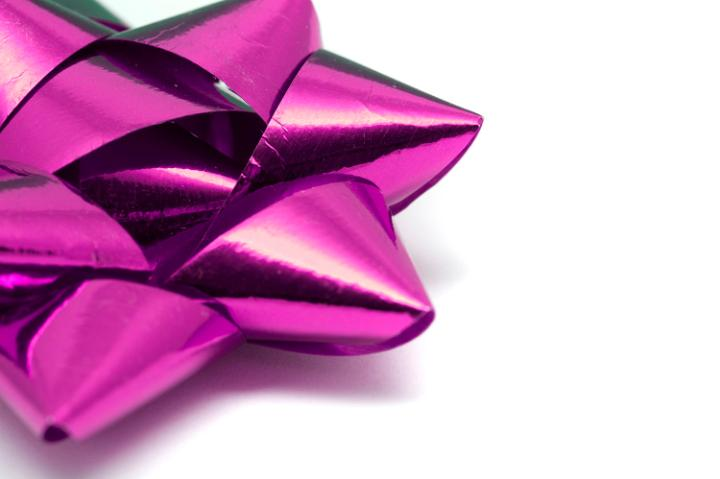 Photo Of Colourful Pink Ornamental Bow Free Christmas Images