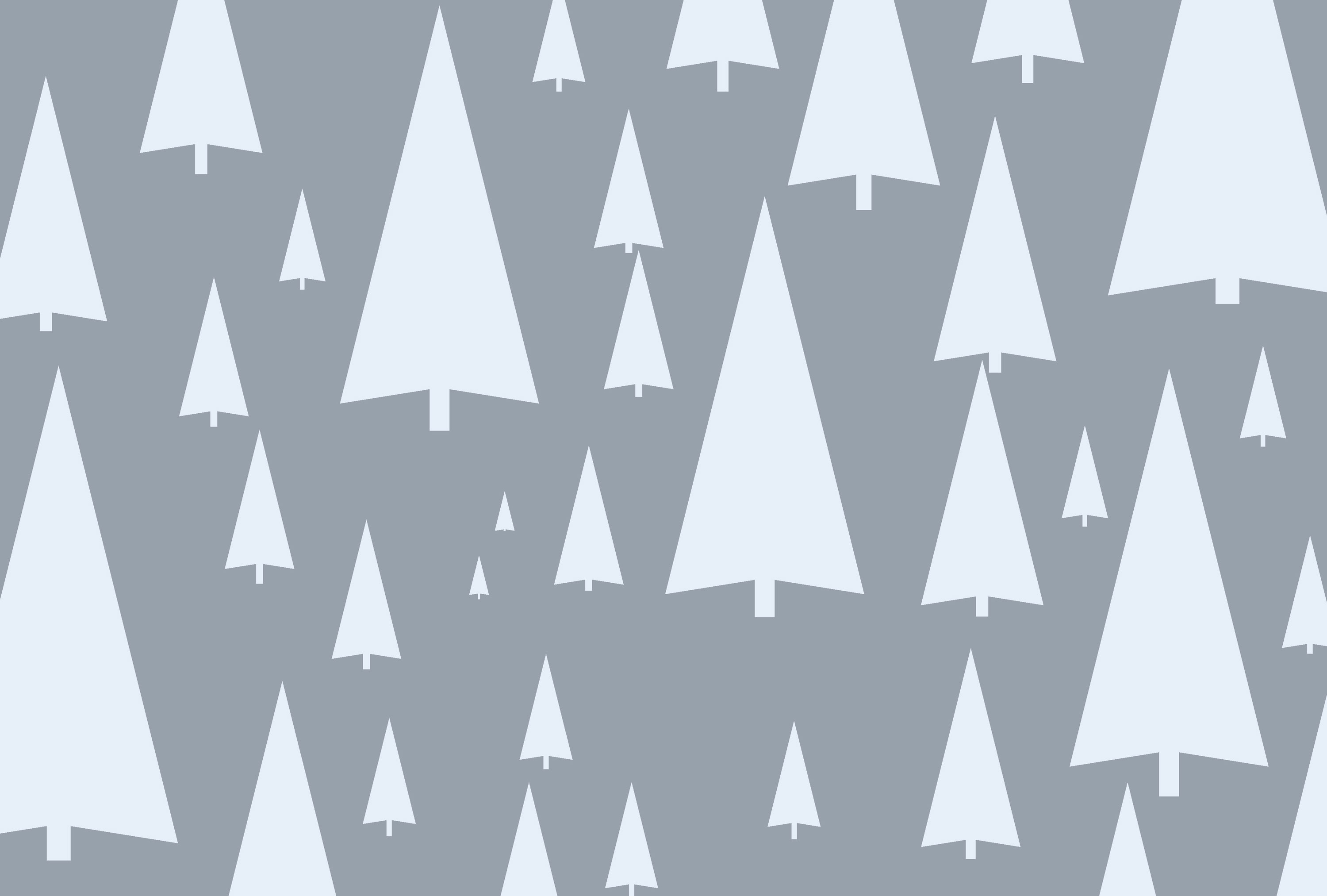 an illustrated background image of white tree shapes on a grey backdrop