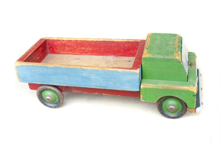 Wooden Toy Trucks For 3 Year Old : Photo of old wooden toy truck free christmas images