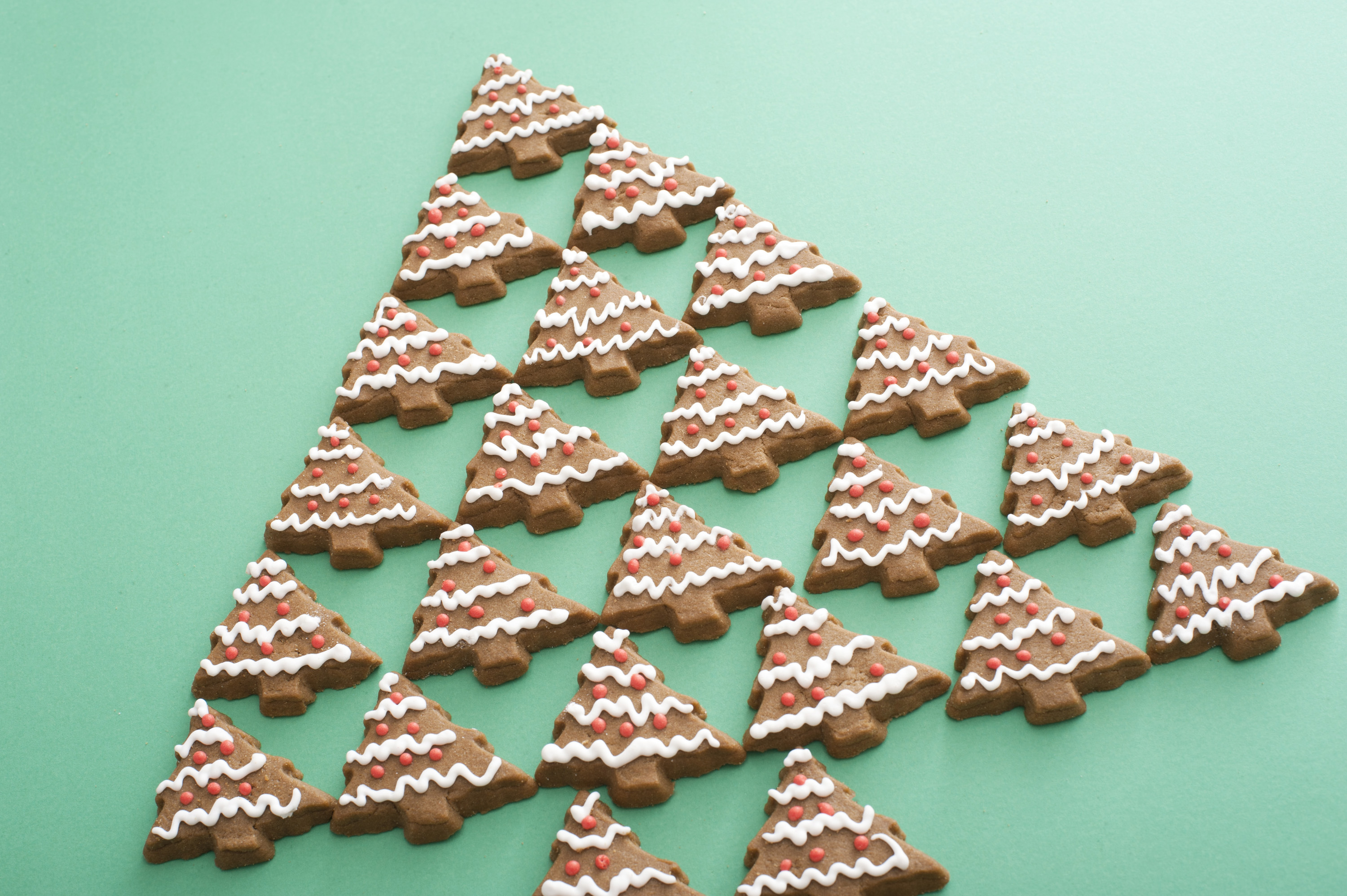 Photo Of Iced Gingerbread Christmas Tree Free Christmas Images