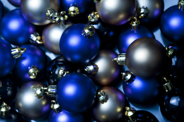 Photo Of Satin Bauble Background Free Christmas Images