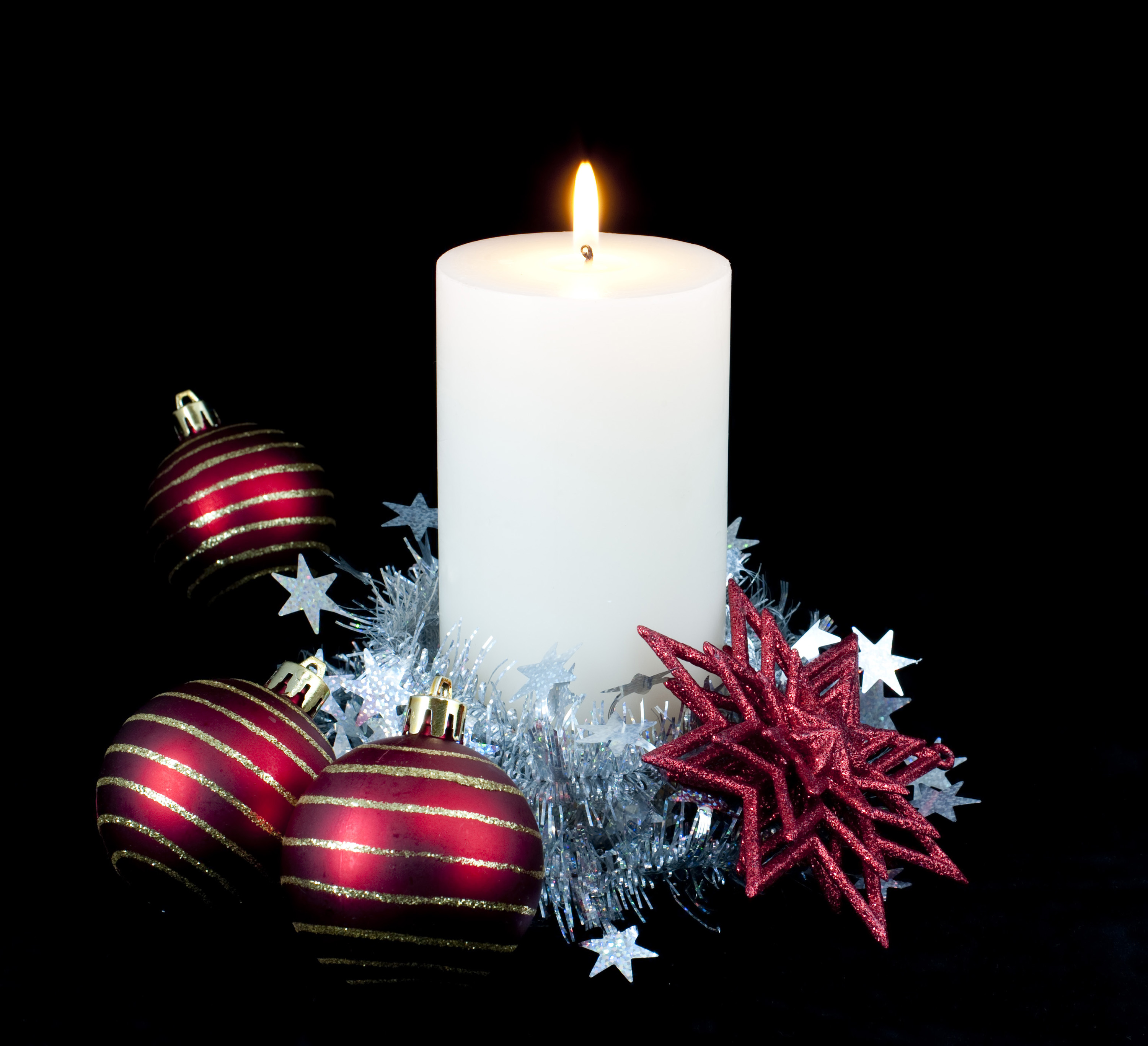 Candle Christmas Decoration