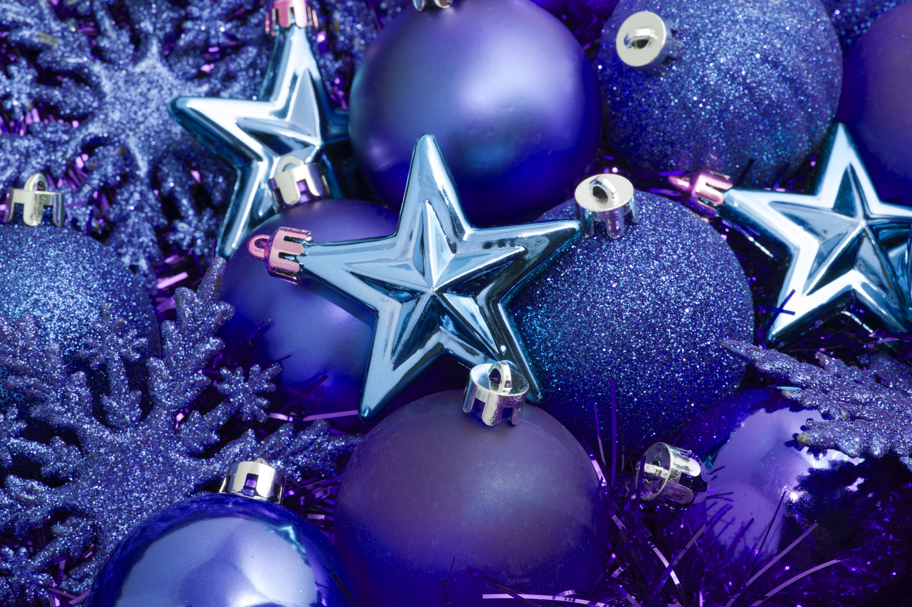 blue christmas decorations - Blue Christmas Decorations Ideas