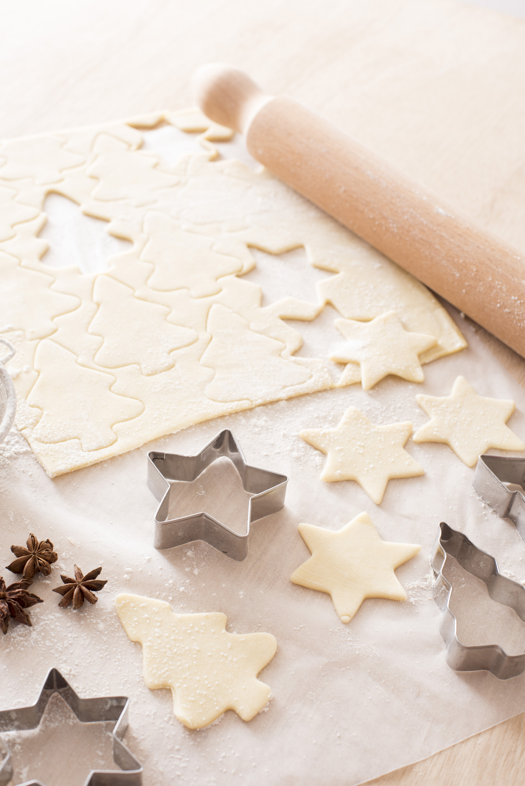 Photo Of Baking Delicious Spiced Christmas Biscuits Free Christmas