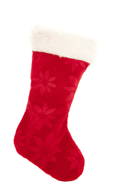 Photo of Isolated festive red Christmas stocking   Free ...