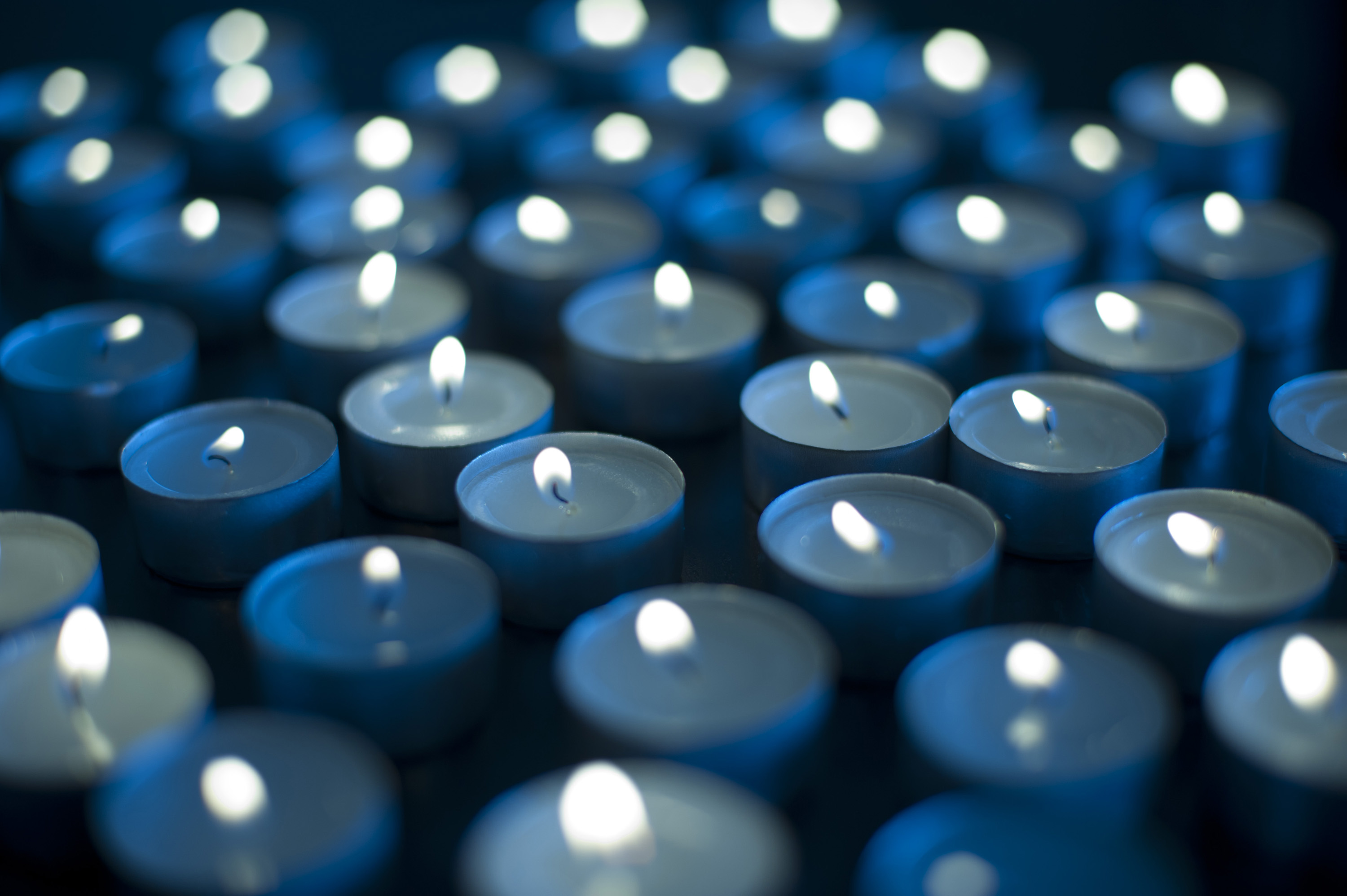 Photo of Background of burning candles | Free christmas images for Blue Candle White Background  284dqh