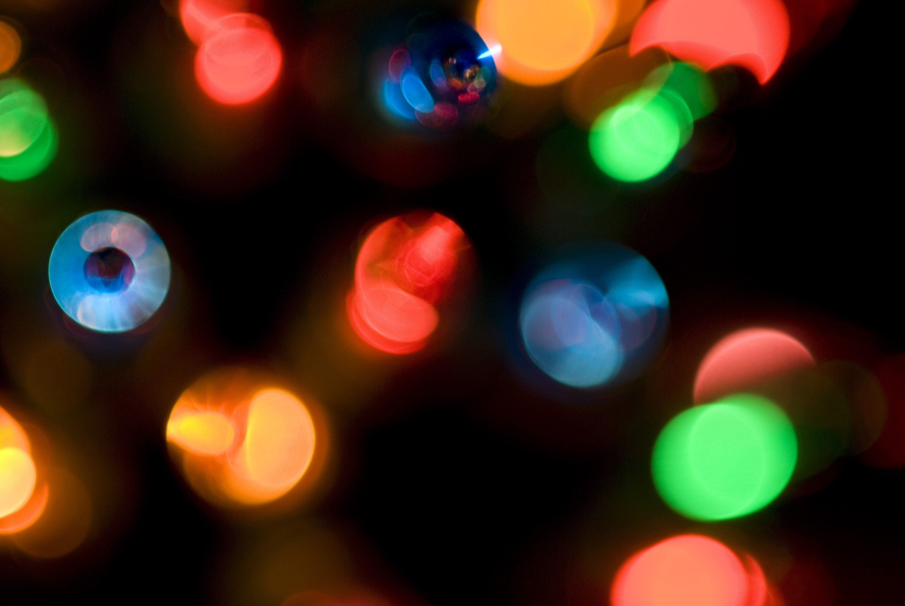 Photo of defocused christmas lights | Free christmas images